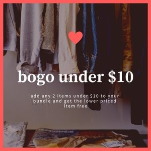 Bogo under $10